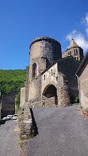 Photo: Startpunt van de wandeling: de kerk van La Tourette-Cabardès