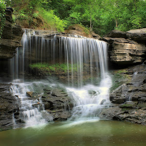 BELLA VISTA by Dana Johnson - Landscapes Waterscapes ( waterfalls, waterscape, cascade, creek, falls, summer, landscape )