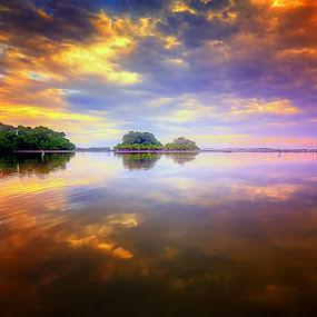 good morning by Tut Bolank - Landscapes Weather ( tuban - kuta - bali - sunrise at tuban )