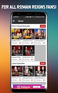 Download WWE Roman Reigns TV APK latest version App for PC