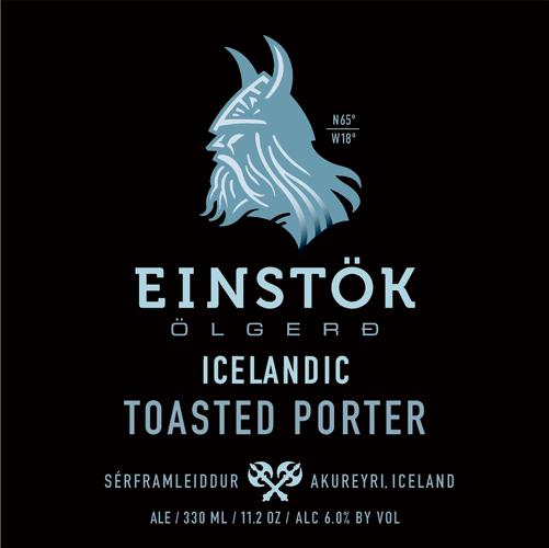 Logo of Einstök Ölgerð Icelandic Toasted Porter