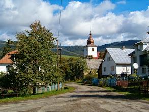 Photo: Centrum Nové Sedlice, nejvýchodnější slovenské obce