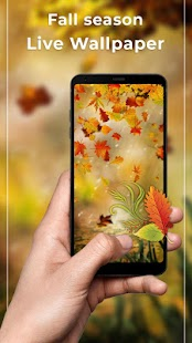 Autumn Maple Free live wallpaper HD - náhled