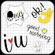 Cute Word Doodle Emoji Stickers Download on Windows