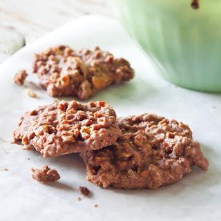 Crunchy Chocolate-Peanut Butter Granola Cookies.