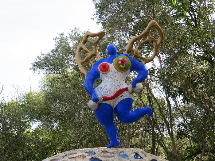 Niki de Saint Phalle, La Temperanza, Giardino dei Tarocchi, Capalbio, Toscana