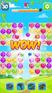 Diamond Jewels: Match 3 Puzzle - náhled