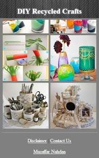 Recyklované řemesla Myšlenky - náhled