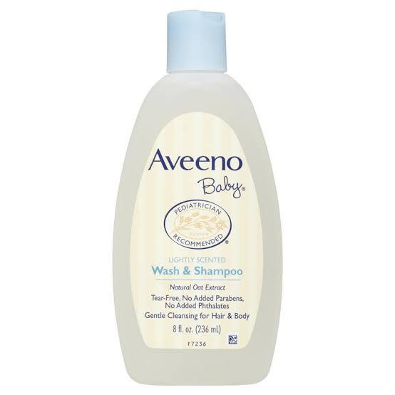 3. Aveeno Baby Wash & Shampoo
