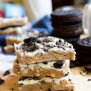 No-Bake Cookies&Cream Protien Bars
