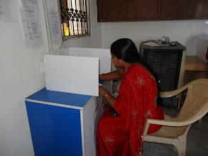 Photo: Secret Ballot - GHMC Elections