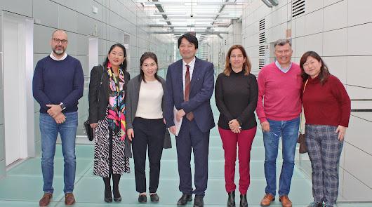 Japón se fija en el modelo Almería y visita el PITA