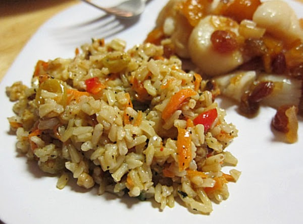 Brown Rice Medley Recipe