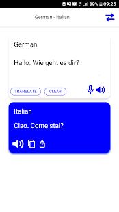 Italian-German Translator - náhled