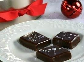 Chocolate Salted Caramels