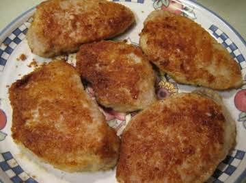 Crispy Herb-Coated Pork Chops