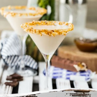 THE BEST Snickers Martini.