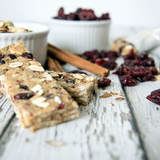 Cranberry Almond Oatmeal Bar