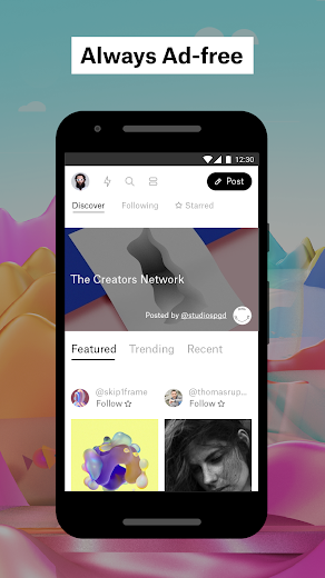 Screenshot 4 for Ello's Android app'