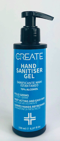 Handsprit gel 150 ml med pump
