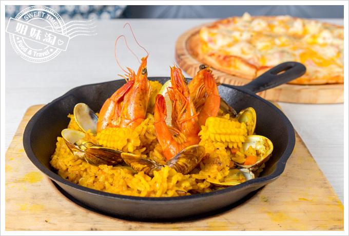 克洛浦水素水餐廳西班牙海鮮燉飯