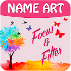 My Name Art Focus n Filter icon