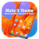 Theme for Mate X shine at your android device NOW