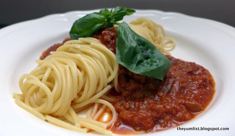Image result for miss ellie tea house bolognese spaghetti