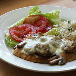 Chicken Breasts with Mozzarella Cheese.