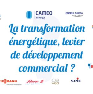 Transformation énergétique : levier de développement commercial ? La synthèse du forum CAMEO de 2015