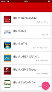 Internet Banking Indonesia - náhled