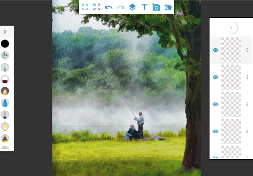 Foto do SketchBook 🖌🖍 - draw, sketch & paint
