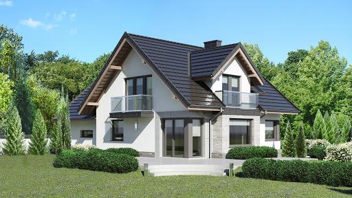 projekt Dom przy Cyprysowej 15 K5