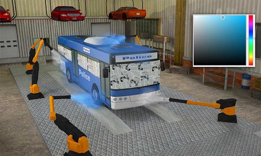 Police Car Wash Service: Gas Station Parking Games 1.2 screenshots 3