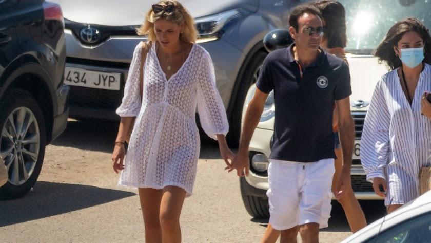 Ana Soria y Enrique Ponce, este verano en Almería.