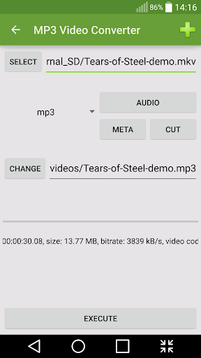 MP3 Video Converter Android