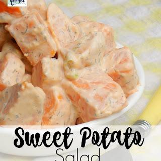 Delicious Sweet Potato Salad.