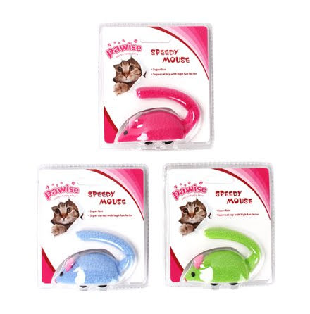Speedy Mouse 9cm Mixade Färger 6-Pack