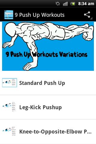 9 Push Up Workouts