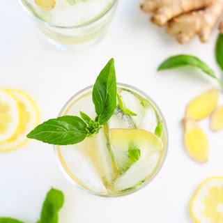 Basil Lemon Collins