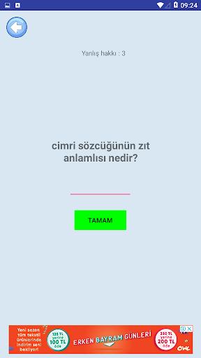 Eu015f-Zu0131t Kelimeler Oyunu screenshots 5