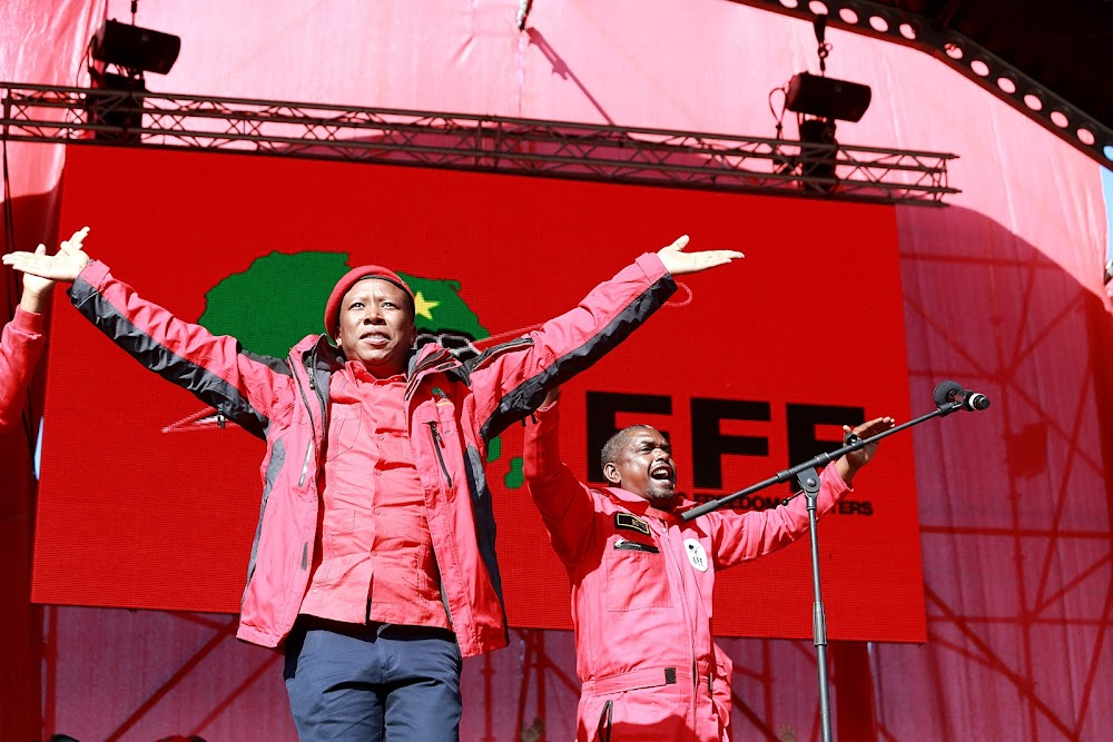 'We have nothing to hide': Godrich Gardee on EFF campaign funding