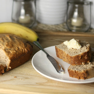 Peanut Butter Banana Nut Bread