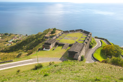 Brimstone-Hill-Fortress.jpg - View of the Prince of Wales Bastion at Brimstone Hill Fortress National Park on St. Kitts.
