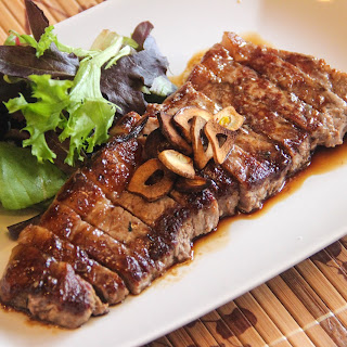 Japanese Beef Steak.