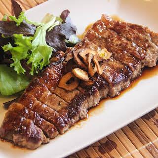 Japanese Beef Steak.