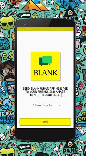 Blank Message for Whatsapp 1.0 screenshots 1