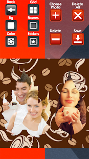 Coffee Photo Collage Maker - náhled