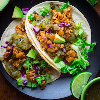 Healthy Ground Chicken Tacos Recipes.