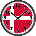 Denmark Clock icon